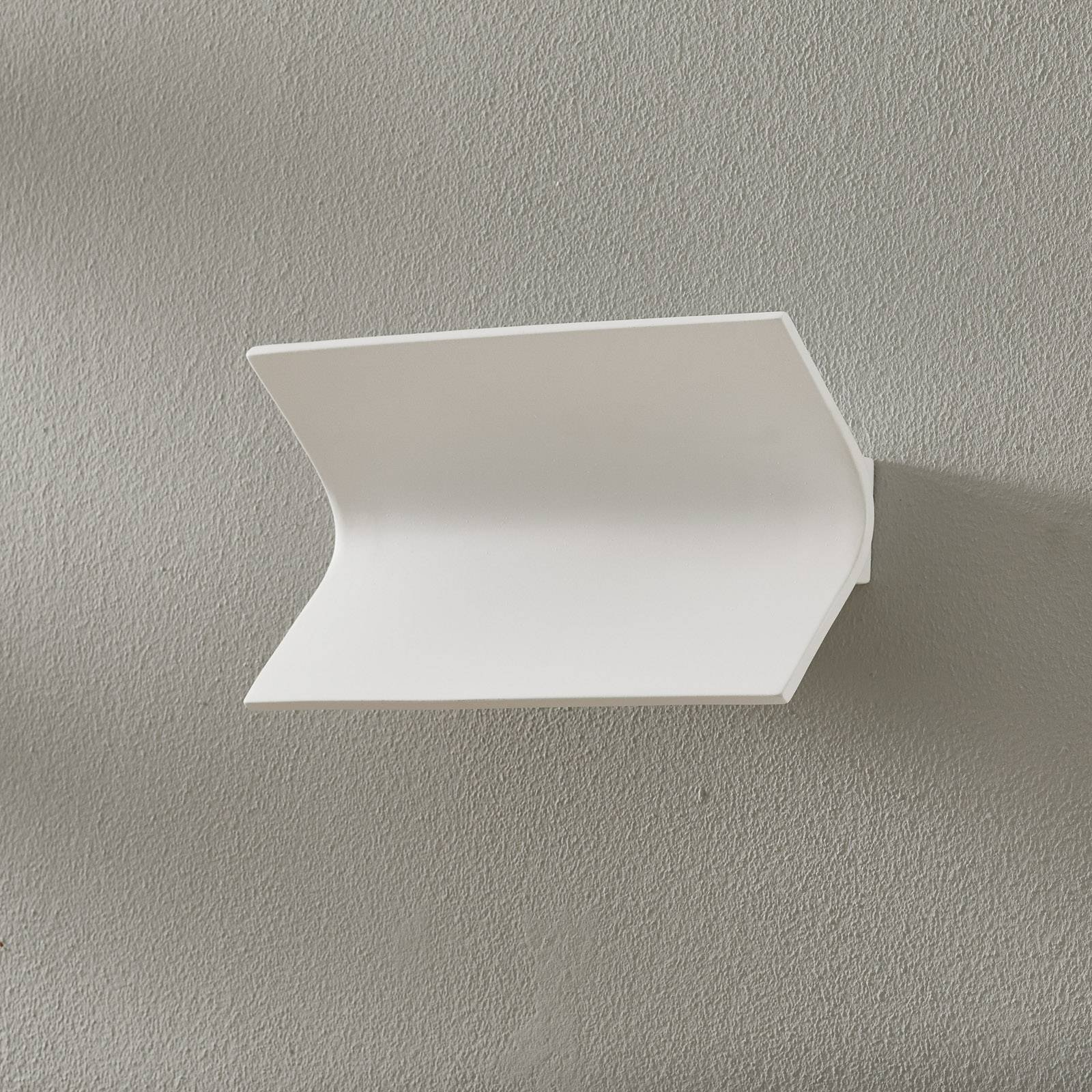 LED-vegglampe 2497, keramikk 2 700 K, dimbar