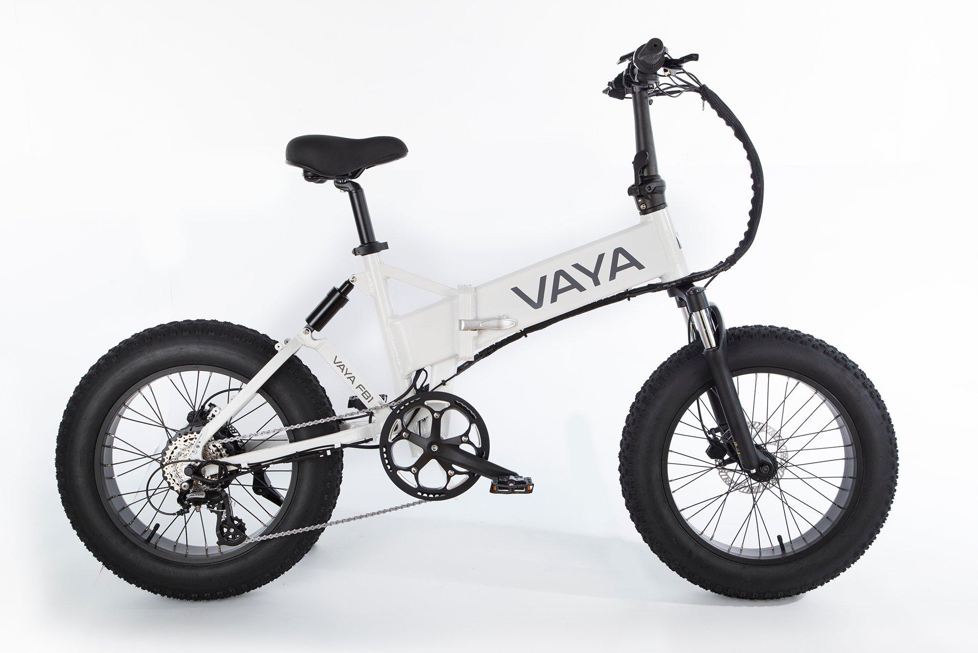 Vaya - Fatbike FB-1 E-Bike - Electric Bike - White (1647WH)