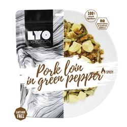 Lyofood Pork Loin In Green Pepper Sauce 500 G