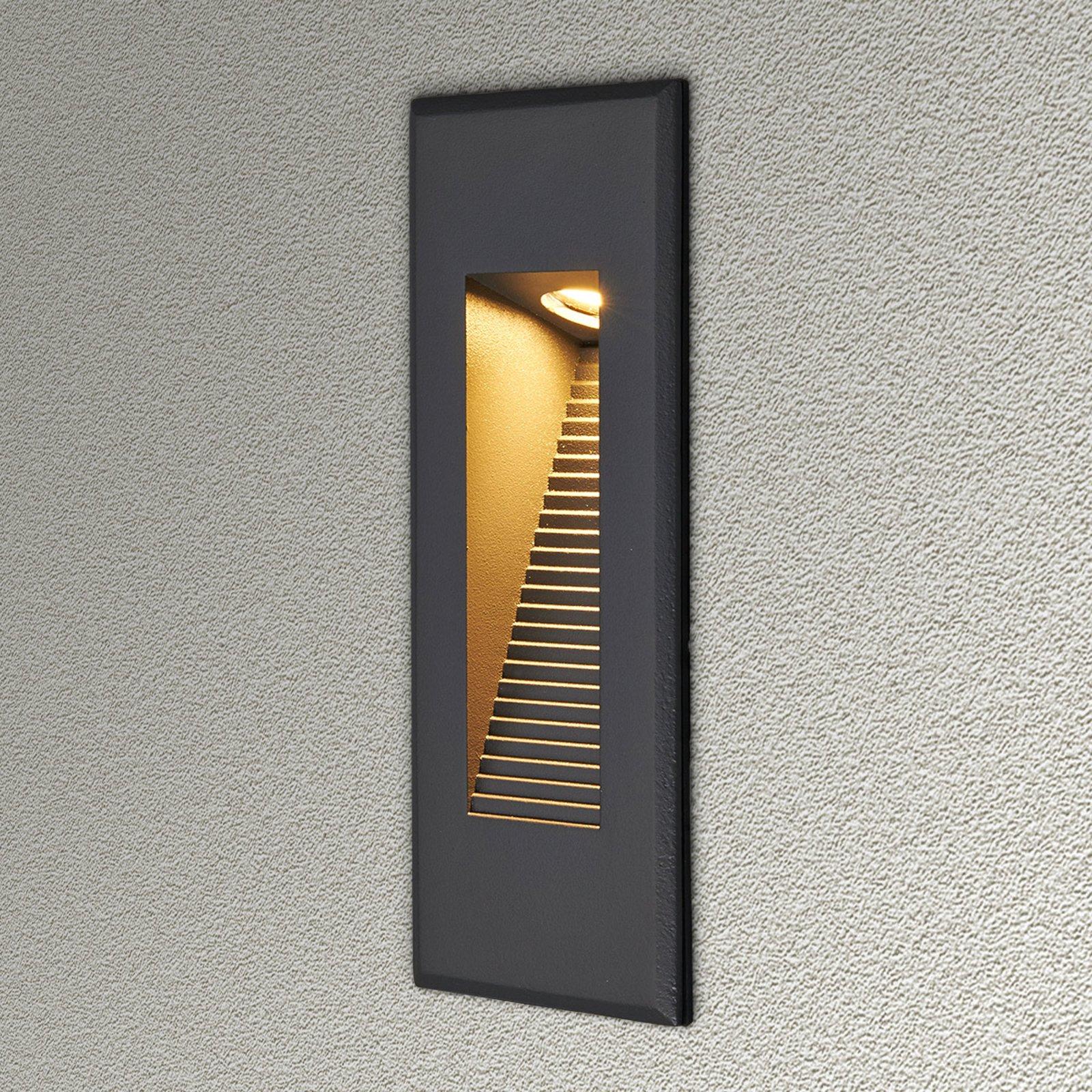Indirekte lysende LED-vegginnbyggingslampe Nuno