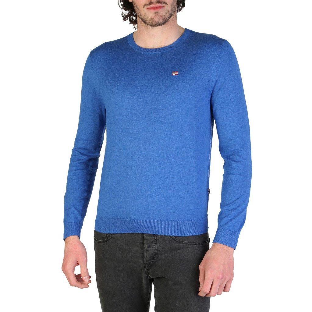 Napapijri Men's Sweater Blue DECATUR_N0YHE6 - blue S