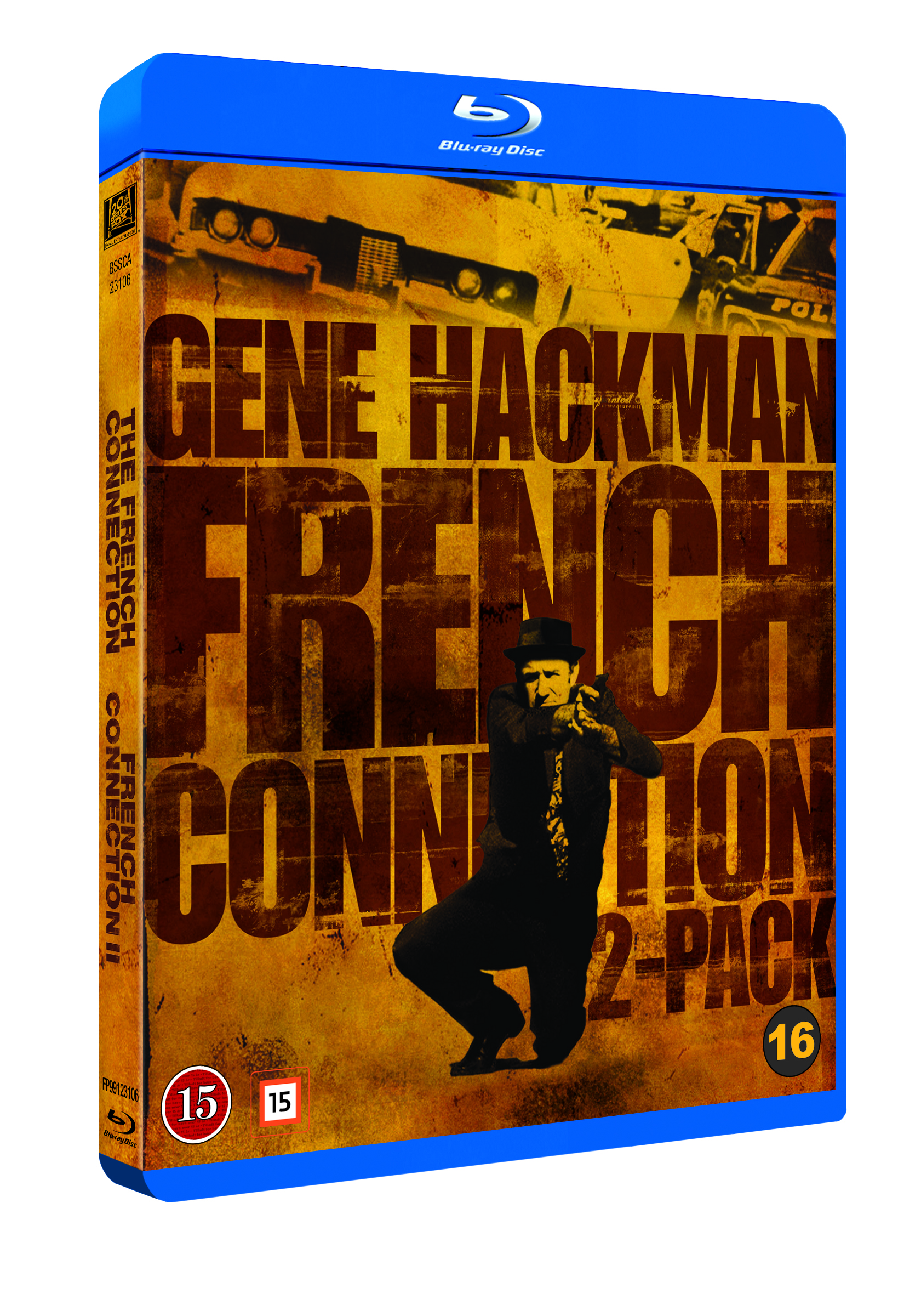 French Connection 1 and 2 Boxset (Blu-Ray)