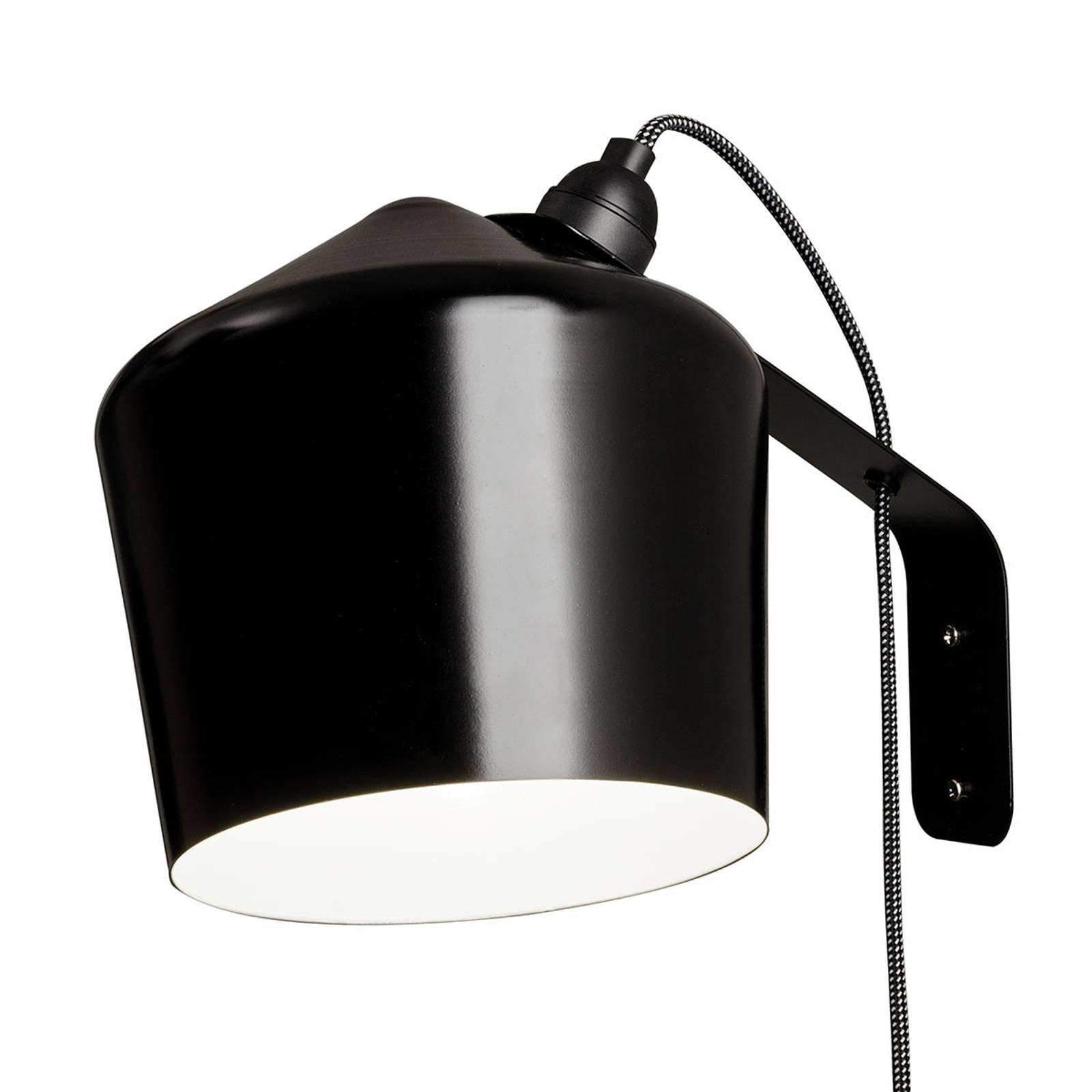 Innolux Pasila designer-vegglampe, svart