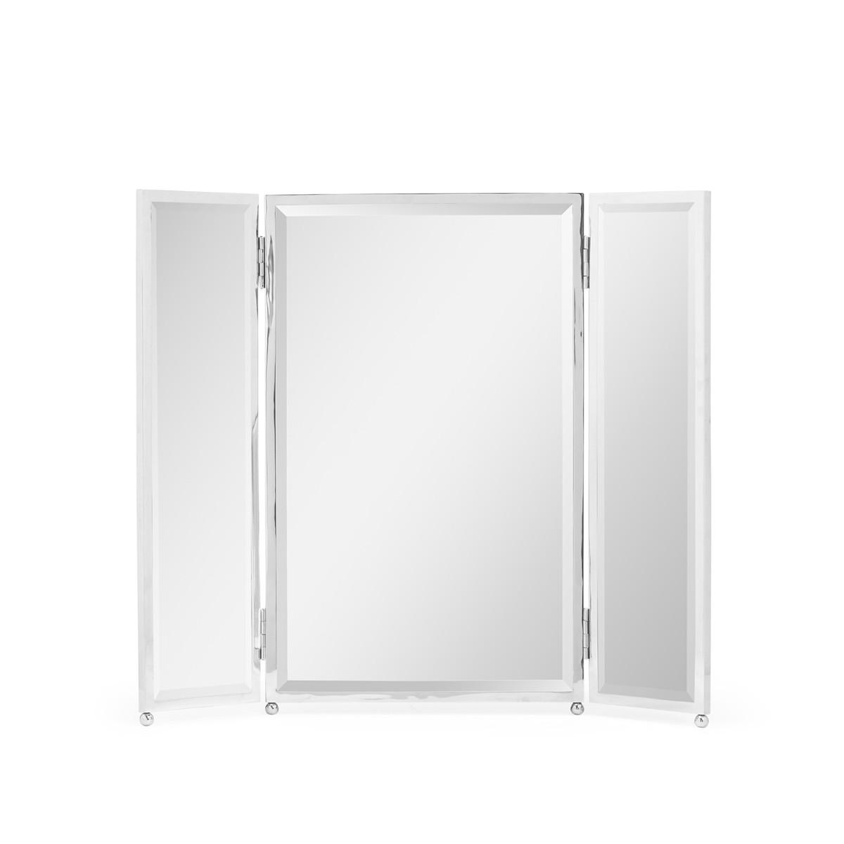 William Yeoward | Sandrine Triple Dressing Mirror Nickel