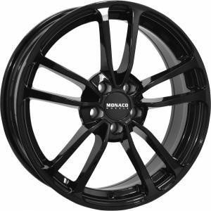 Monaco CL1 Gloss Black 6.5x16 5/108 ET45 B63.4