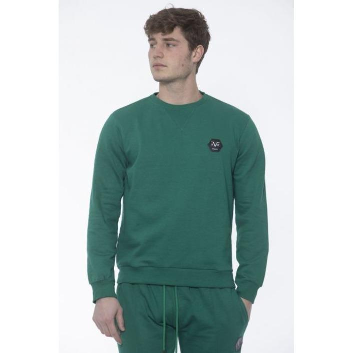 19v69 Italia Men's Sweatshirt Green 187663 - green M