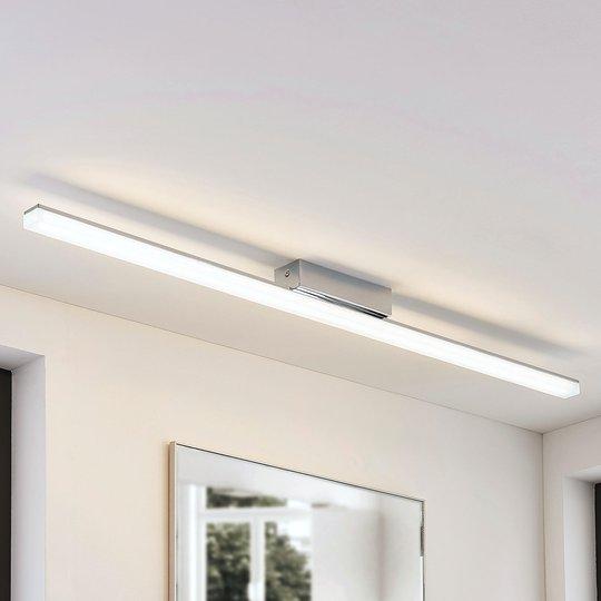 Pitkänomainen LED-kattolamppu Levke, IP44