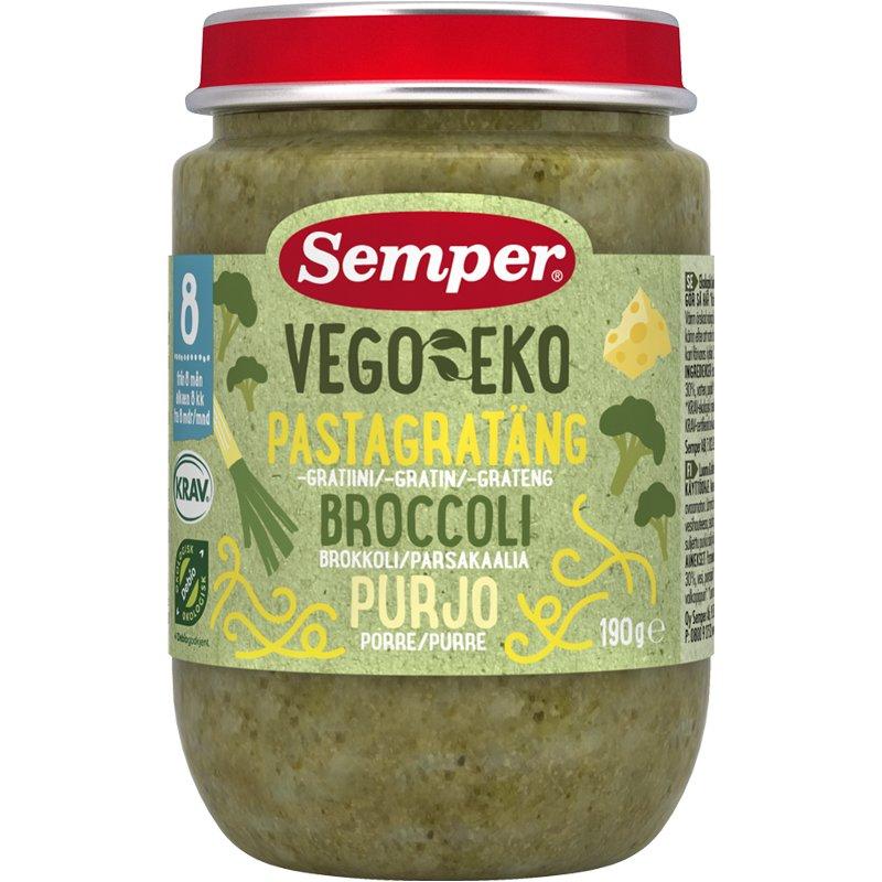 Pastagratäng Broccoli & Purjolök Eko - 26% rabatt