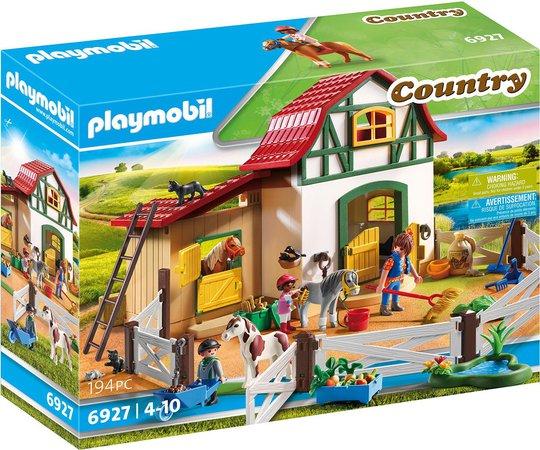 Playmobil 6927 Ponnistall