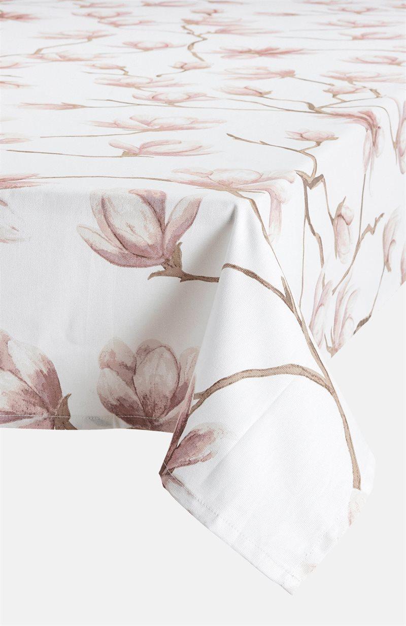 Magnolia kukkakuvioinen pöytäliina