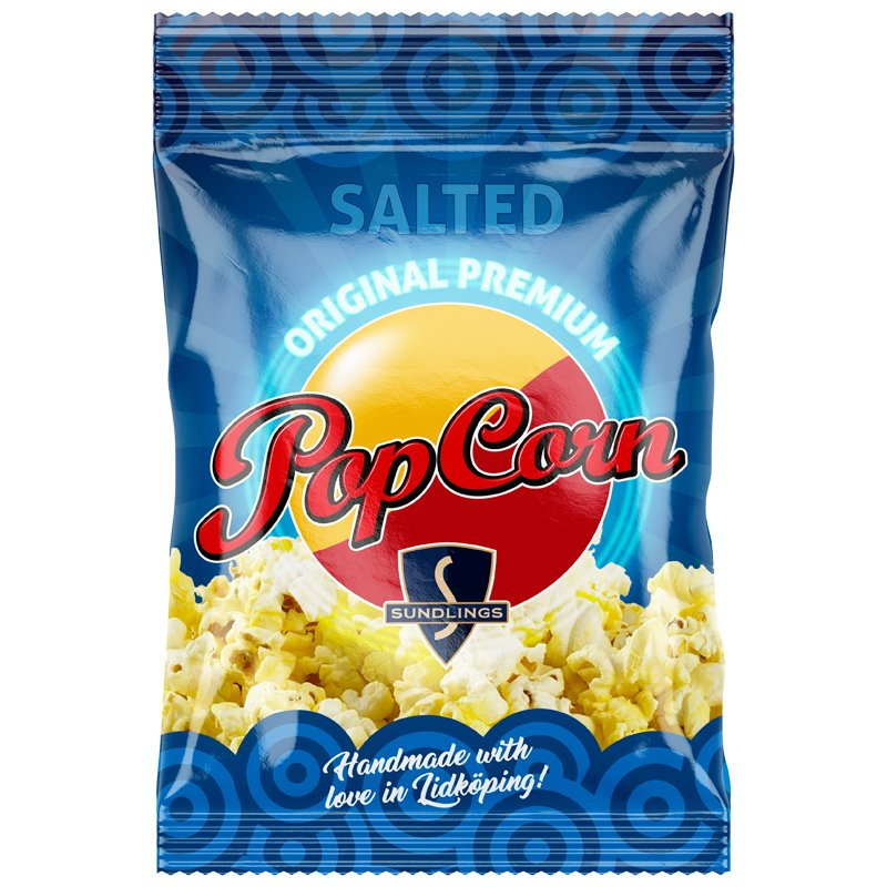 Suolatut Popcornit - 42% alennus
