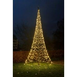 Julbelysning Fairybell Flaggstångsbelysning 7 meter, 1500 LED