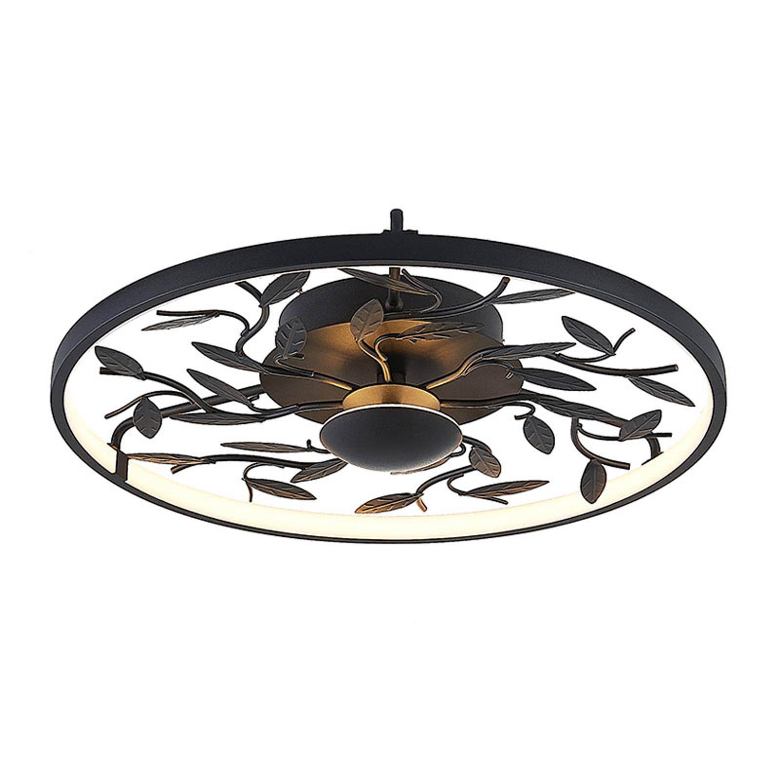 Lindby Annleorie -LED-kattovalaisin, musta