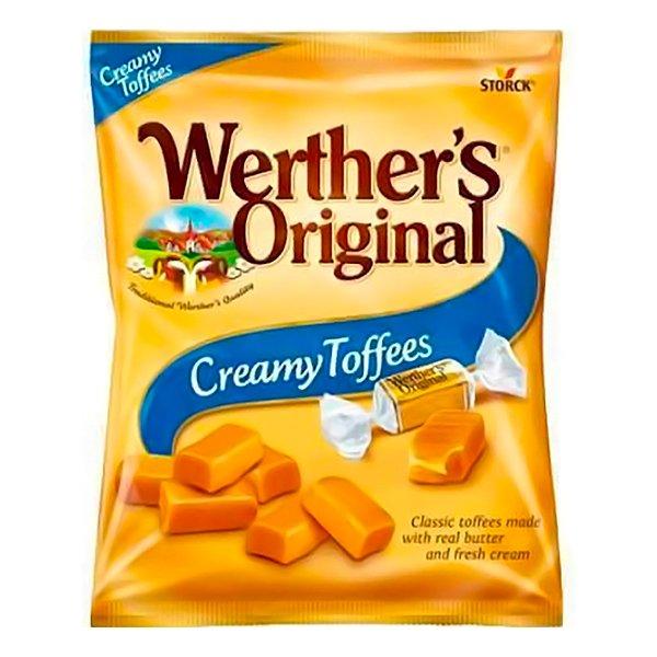 Werther's Original Creamy Toffees - 135 gram