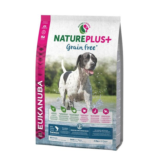 Eukanuba Nature Plus+ Grain Free Adult Salmon (2.3 kg)