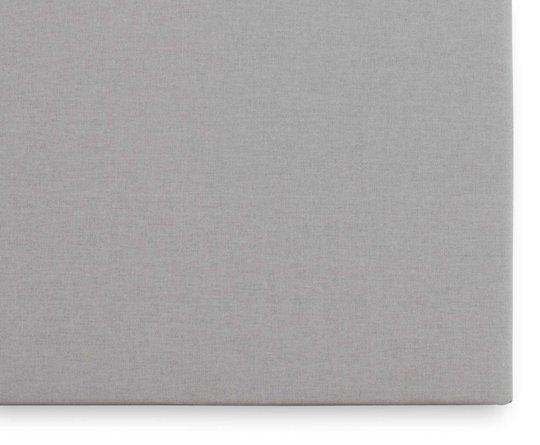 Borganäs Jersey Stretchlaken 60x120, Lysegrå