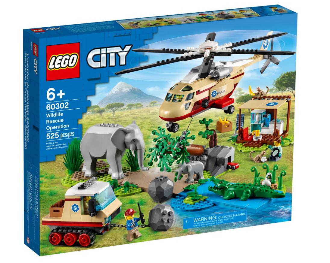 LEGO City - Wildlife rescue operation (60302)