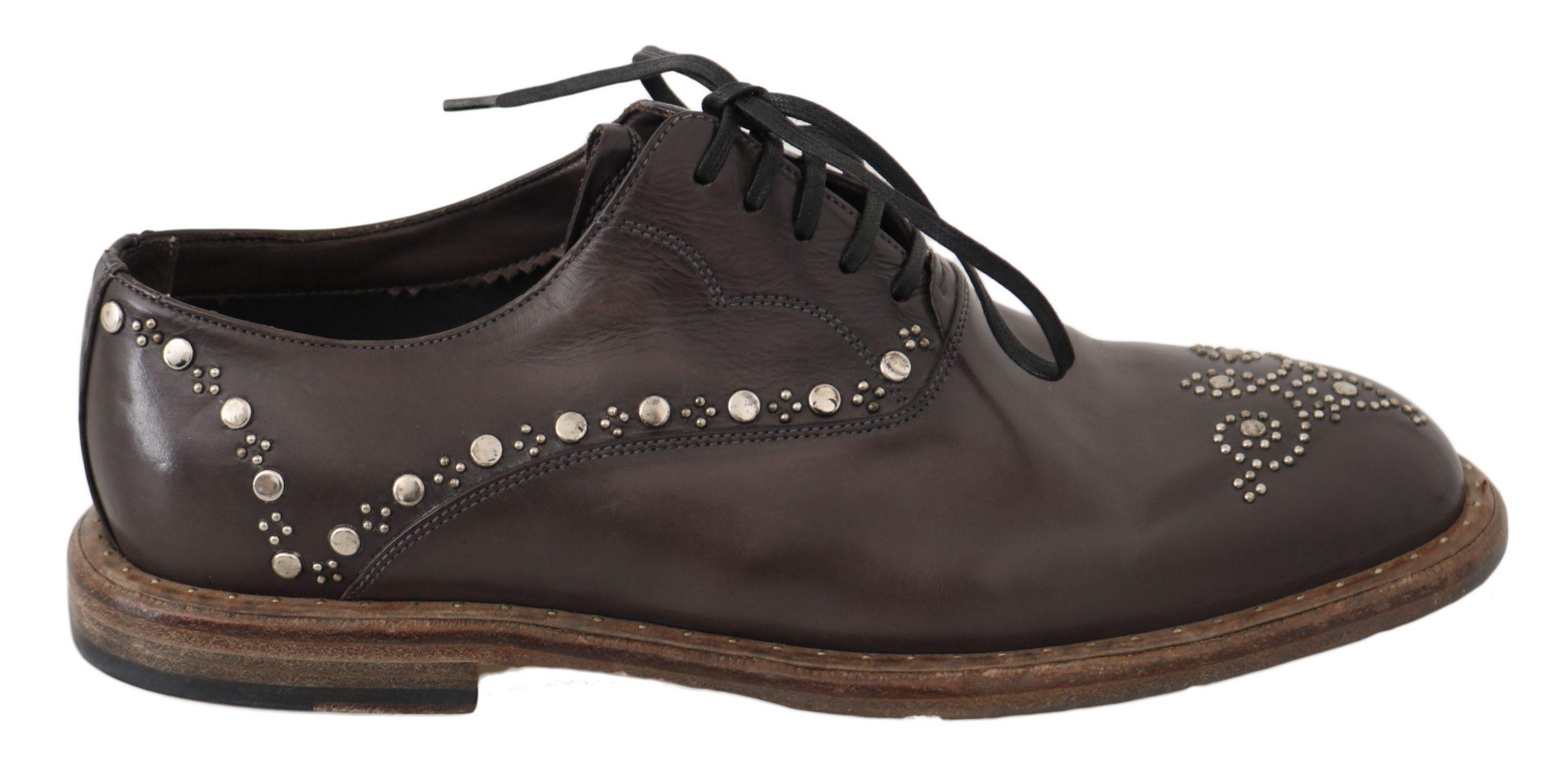 Dolce & Gabbana Men's Shoes Brown MV2332 - EU39/US6