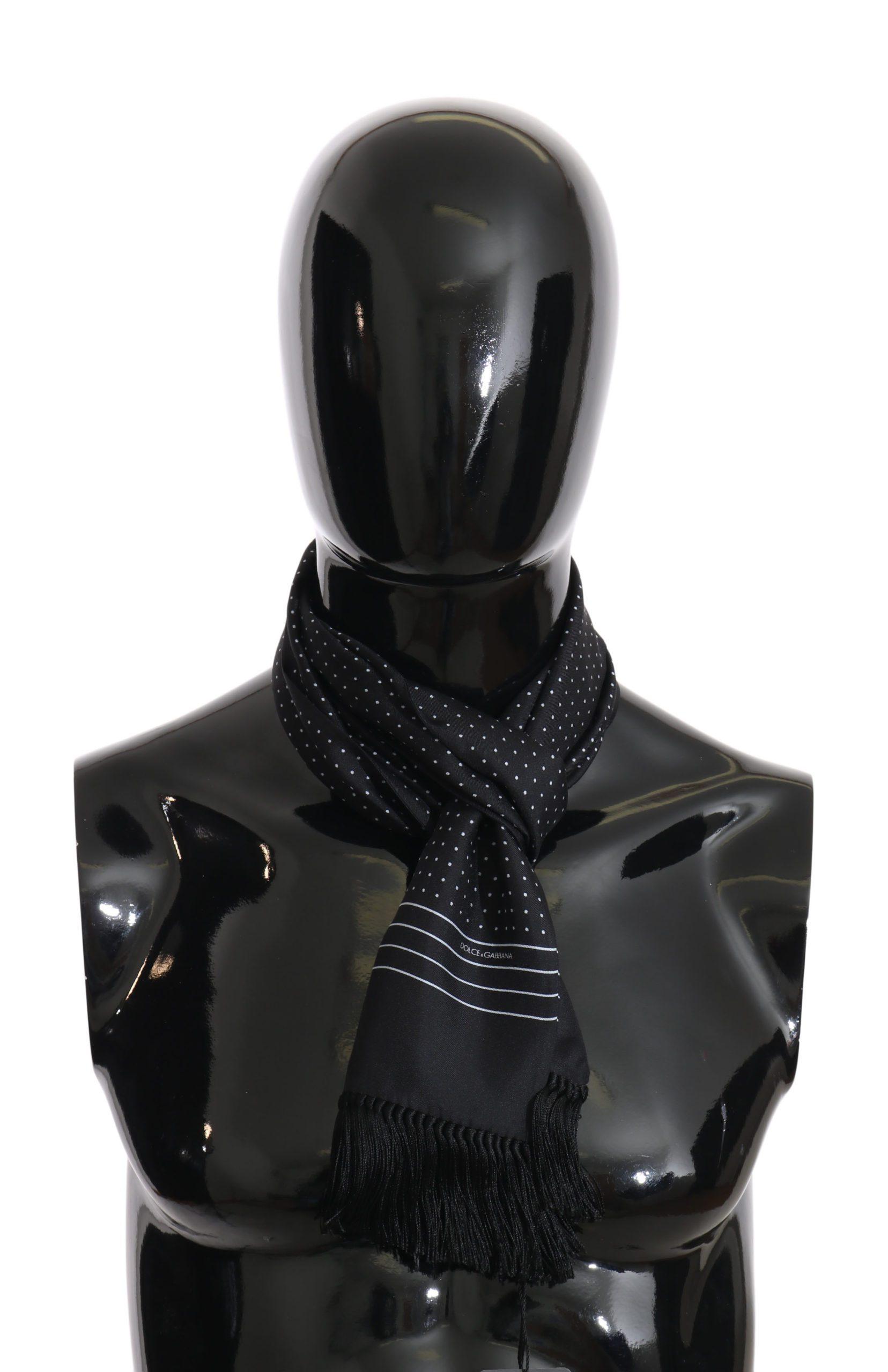 Dolce & Gabbana Men's Scarf Blue MS2034
