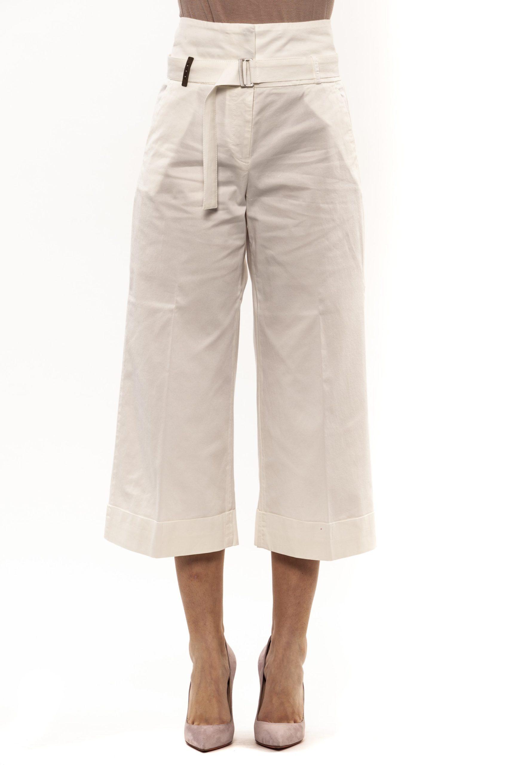 Bianco White Jeans & Pant - IT42   S