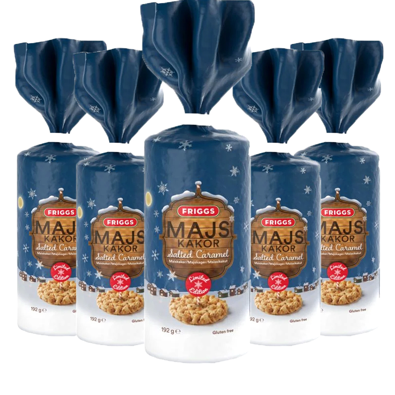 Majskakor Salted Caramel 5-pack - 64% rabatt