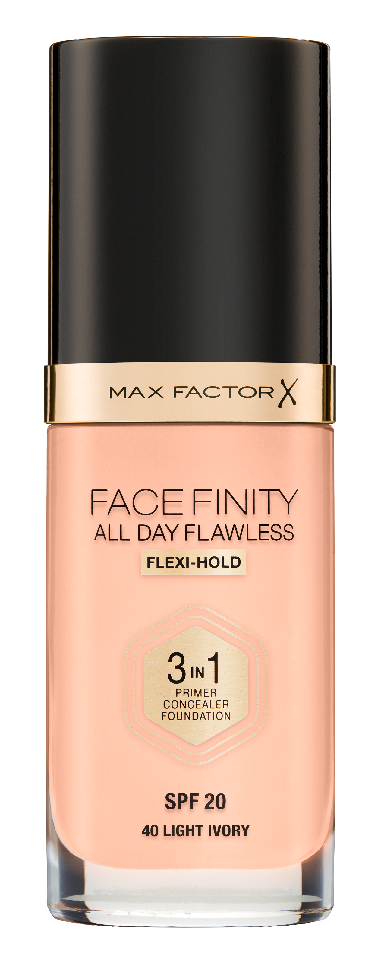 Max Factor - All Day Flawless 3IN1 Foundation - Light Ivory