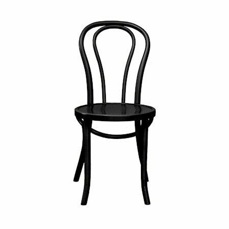 Nice stol – Svartbeiset