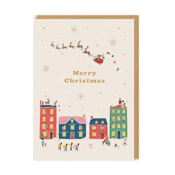 Cath Kidston Merry Christmas Card