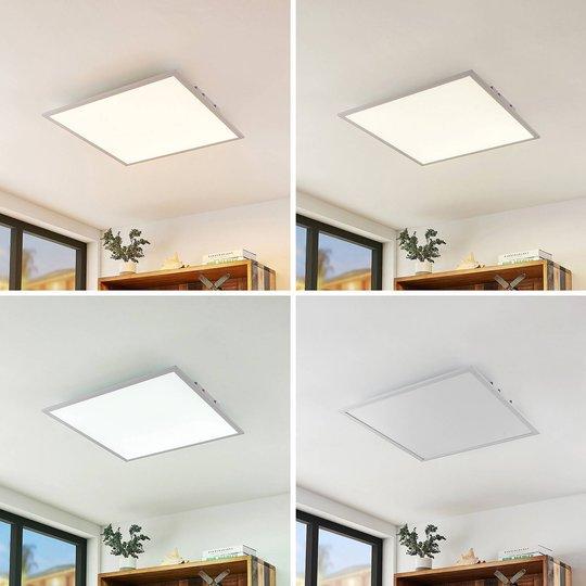 Lindby Luay -LED-paneeli, 3 000–6 000 K, 60x60 cm