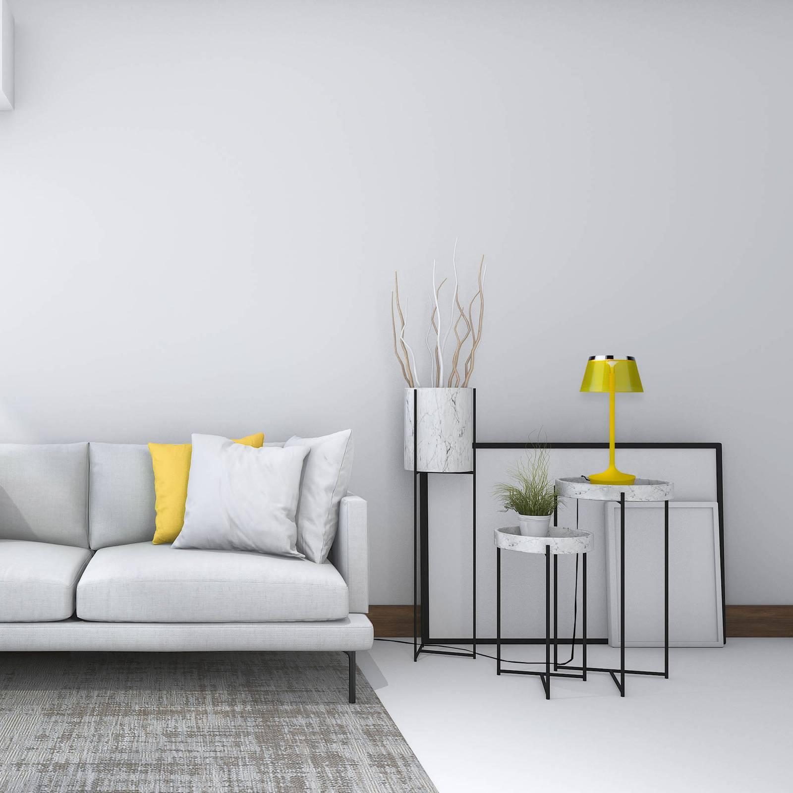 Aluminor La Petite Lampe-LED-pöytälamppu keltainen
