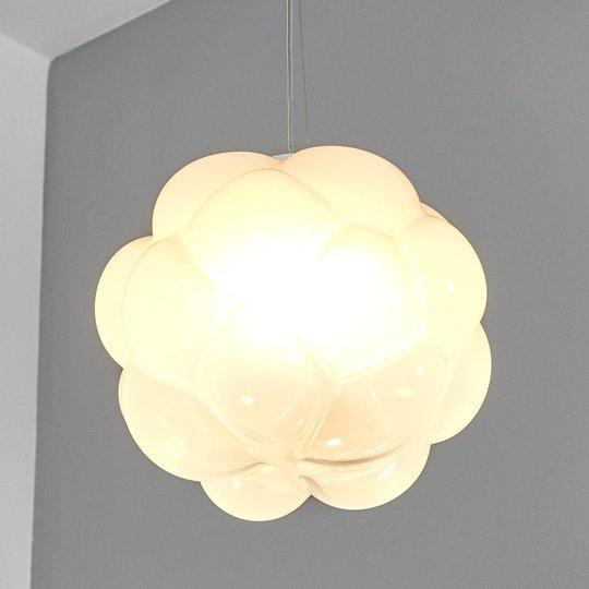 Pilvimäinen LED-riippuvalaisin Cloudy, 26 cm