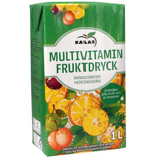 Monivitamiinihedelmäjuoma - 21% alennus