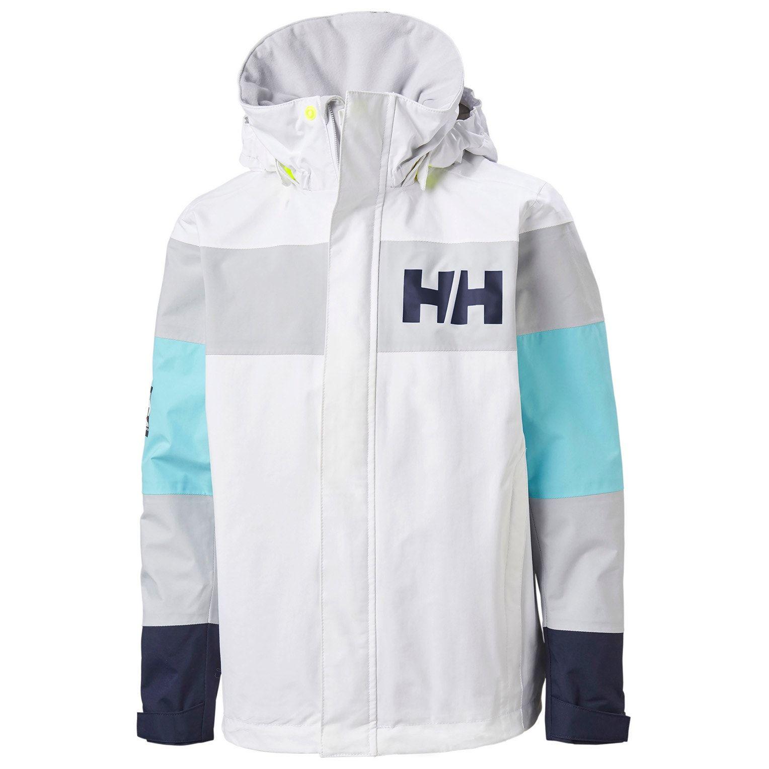 Helly Hansen Salt Port Jacka, White, 128