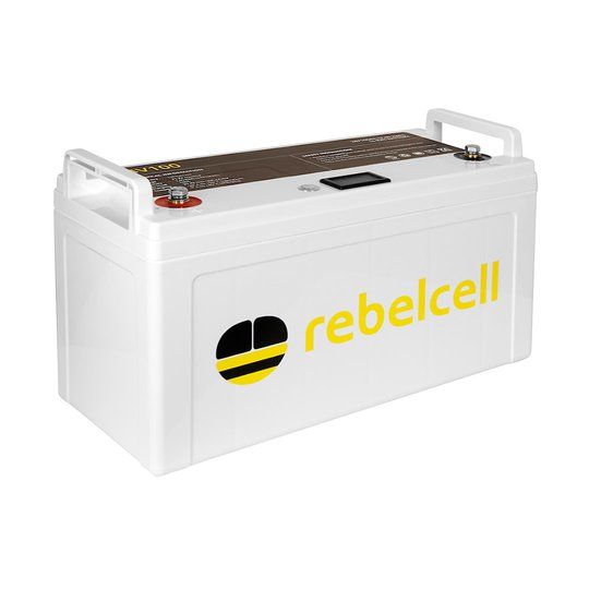 Rebelcell 24V 100 Ah litiumbatteri