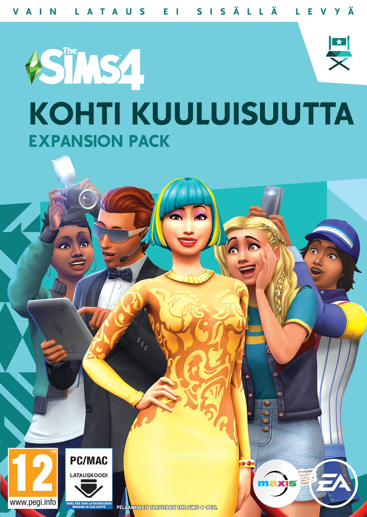 The Sims 4: Get Famous (FI) (PC/MAC)