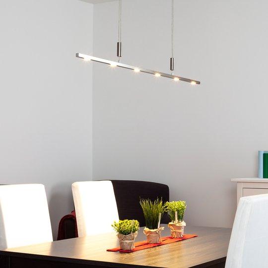 Laadukas LED-riippuvalaisin Tolu, korkeussäädöllä