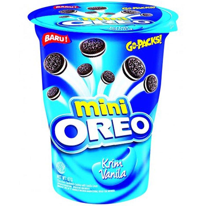"""Keksit """"Oreo Mini Vanilla"""" 67 g - 50% alennus"""