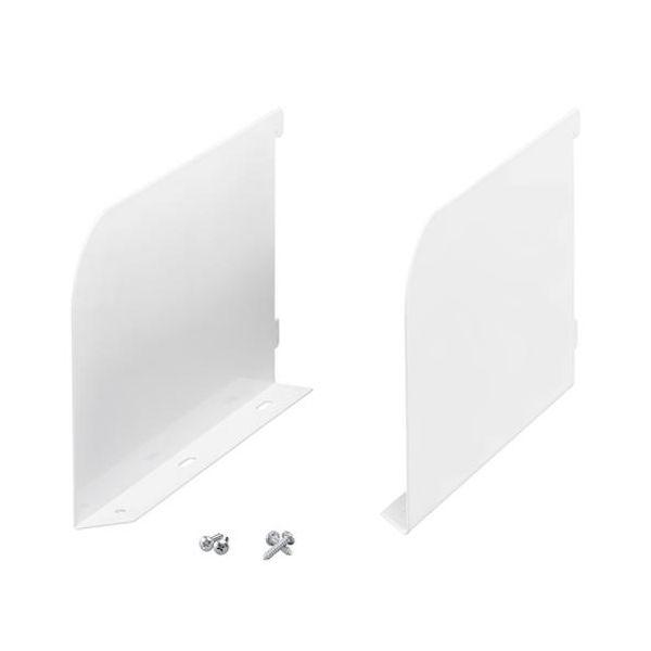 Elfa 466910 Konsoll hvit, par 25 x 250 x 164 mm