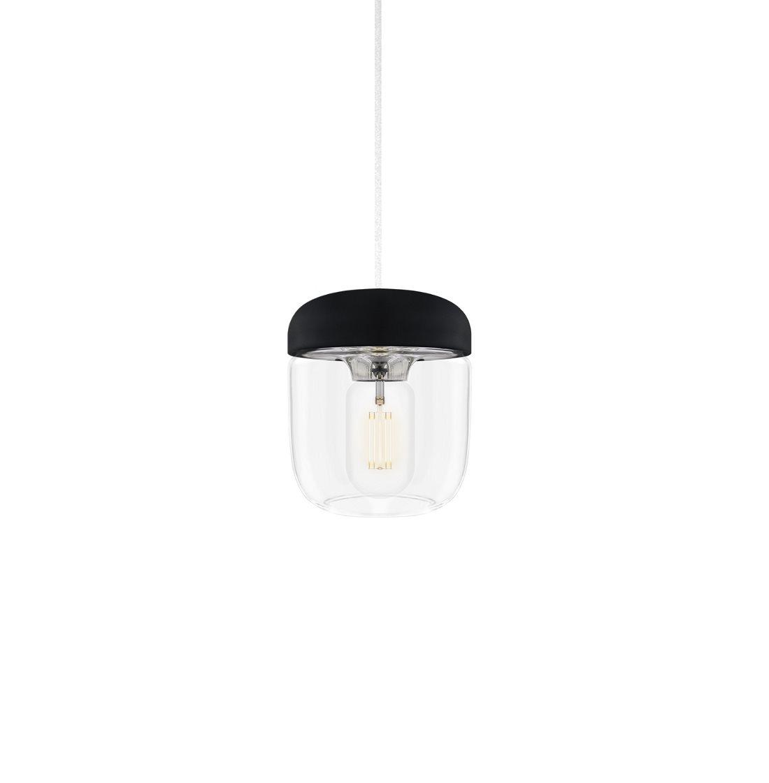 Acorn lampa black steel, VITA