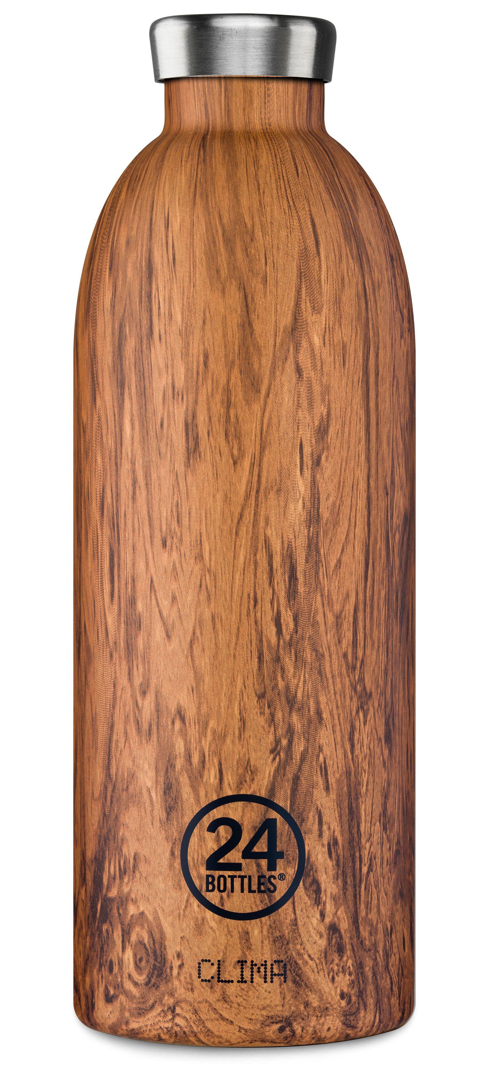 24 Bottles - Clima Bottle 0,85 L - Sequoia Wood Print (24B437)
