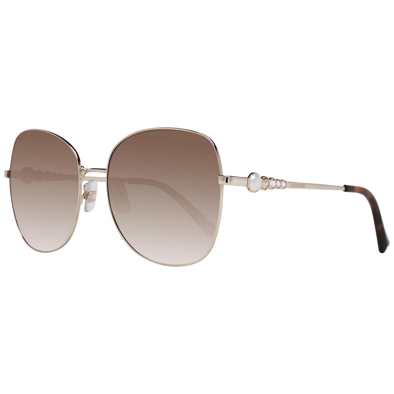 Swarovski Women's Sunglasses Gold SK0181 5932F