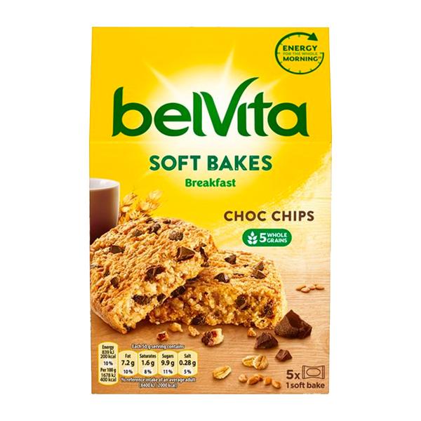 Belvita Soft Bakes Choc Chips 250g
