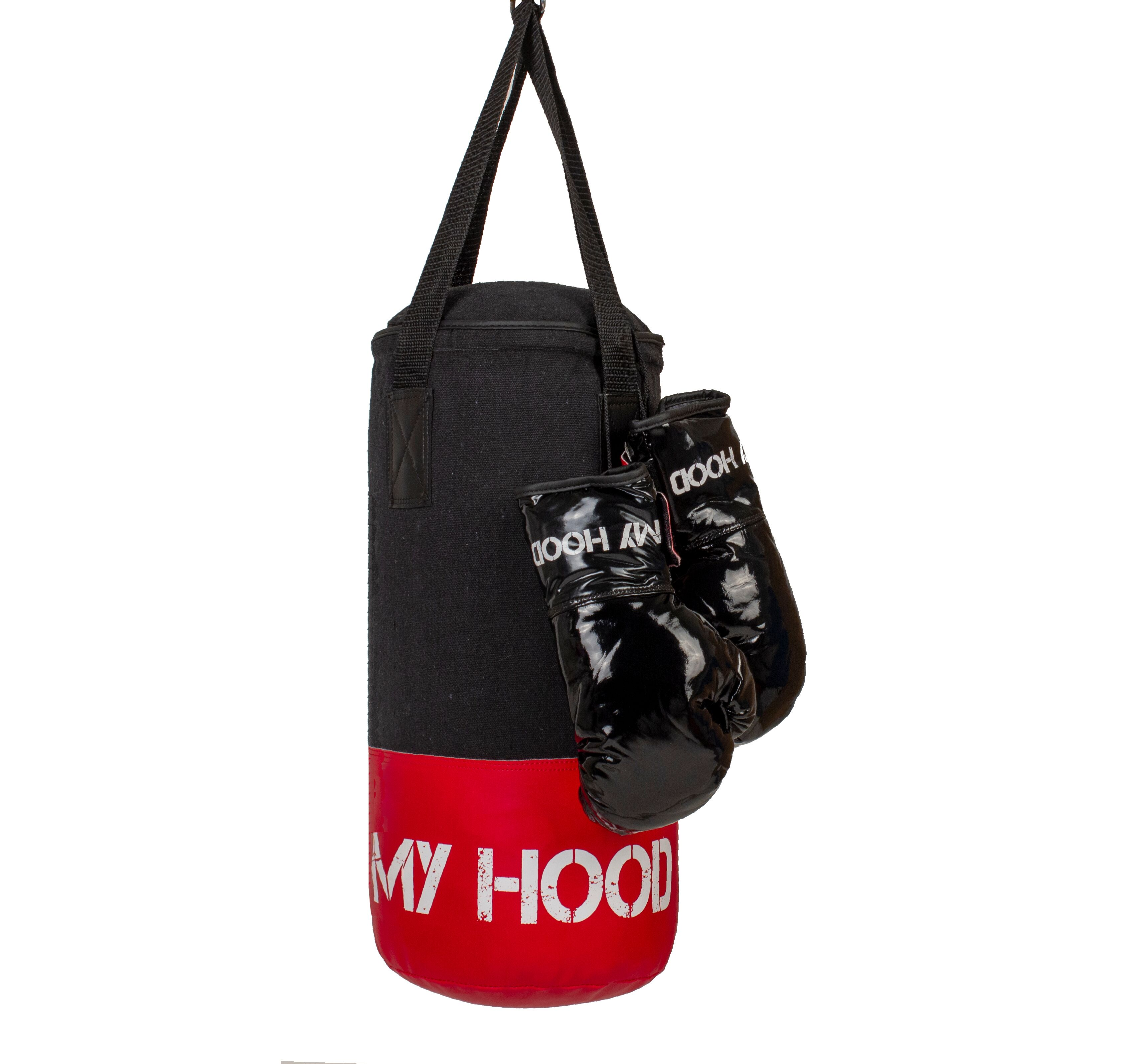 My Hood - Boxing Bag with gloves 4 kg, 4-10 years (201042)