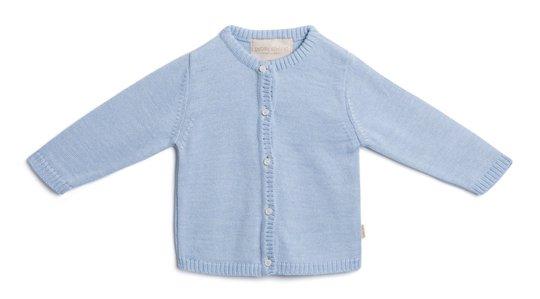 Petite Chérie Atelier Margit Cardigan, Light Blue/Dusty Blue 68