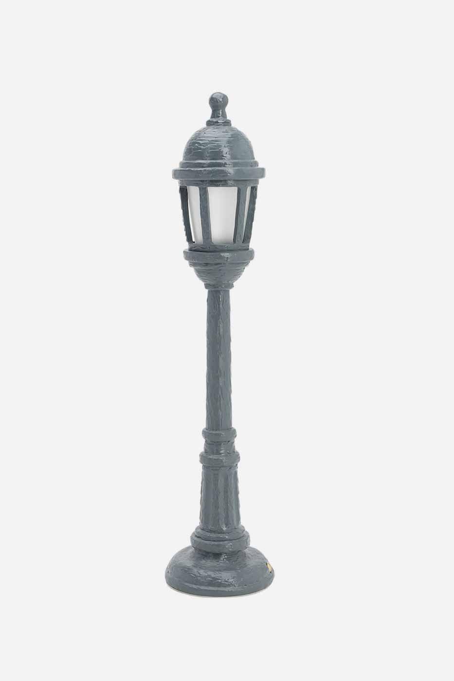 Bordslampa Street lamp grå