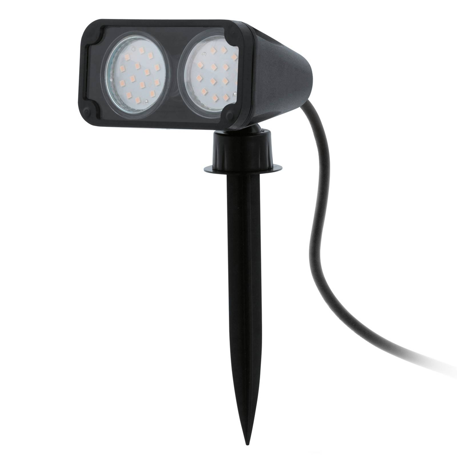 Kaksilamppuinen Nema LED-maapiikkivalaisin