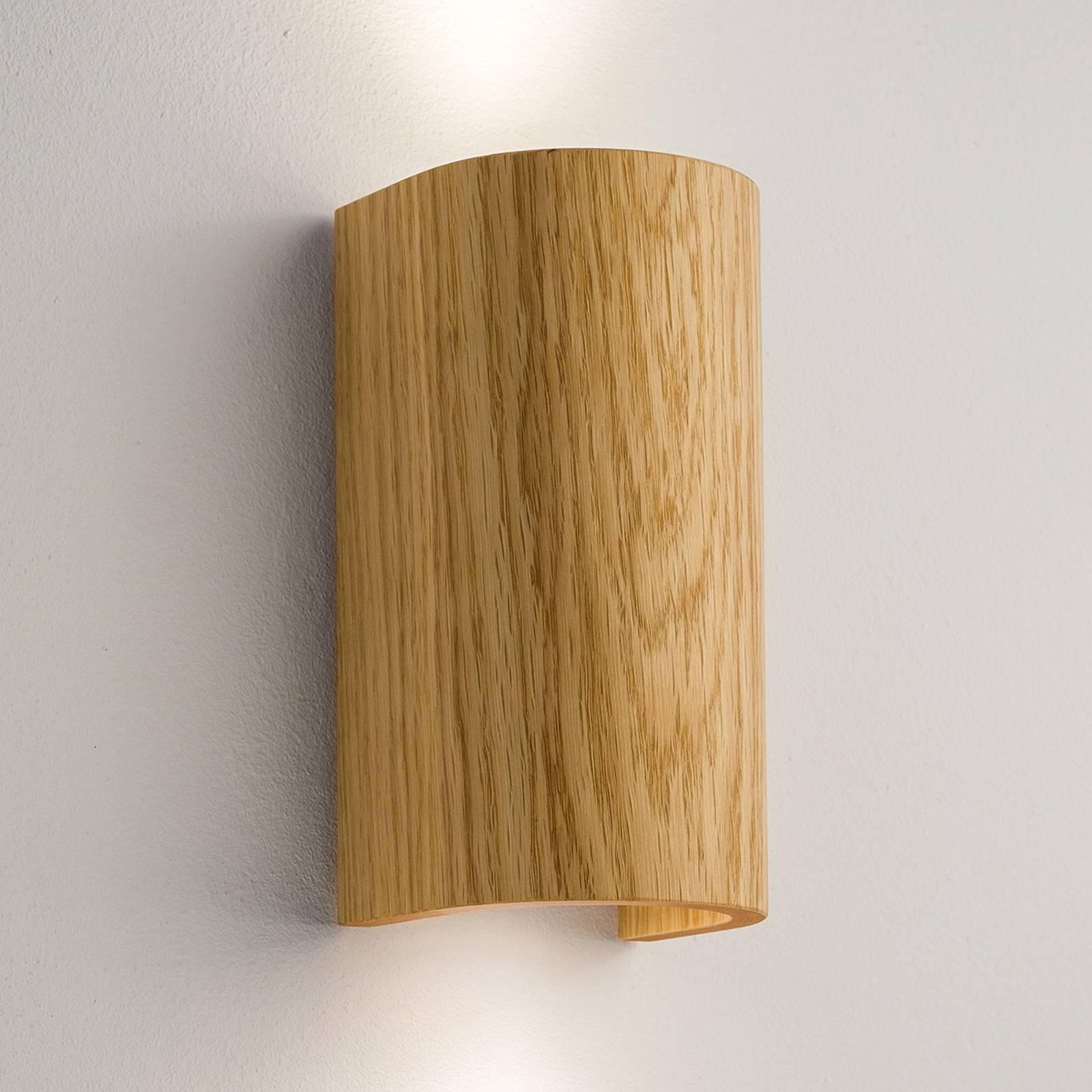 Seinävalaisin Tube tammi, 17,5 cm