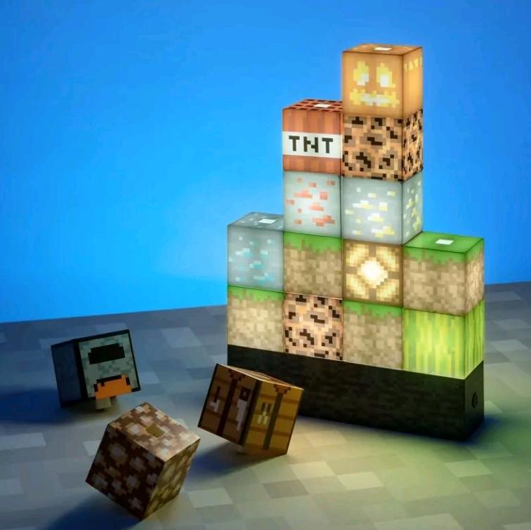 Minecraft - Block Building Light (PP6596MCFEU)