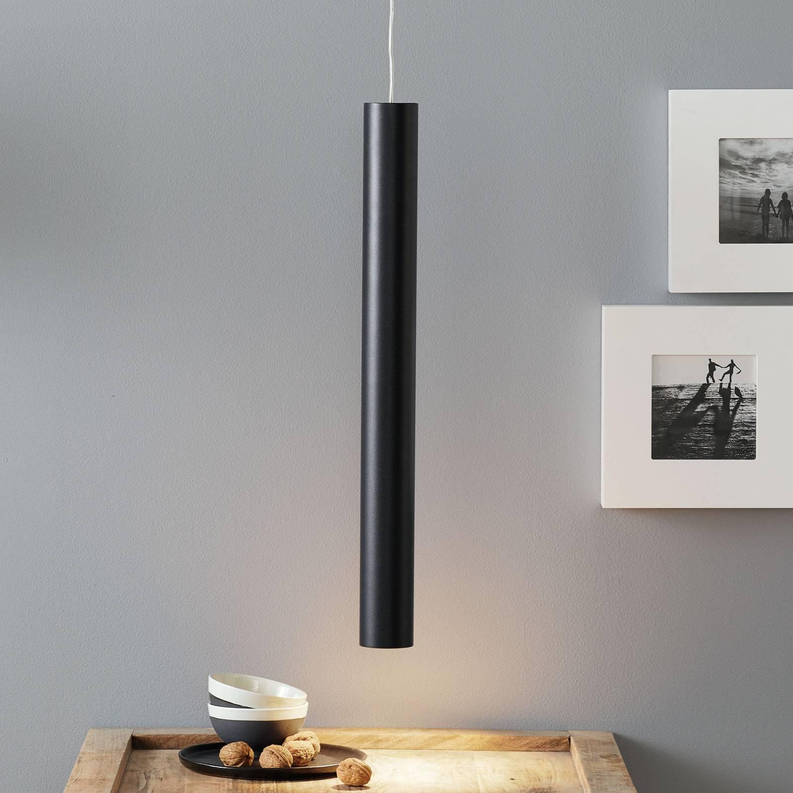 Lucande Luana -riippuvalaisin 60 cm musta