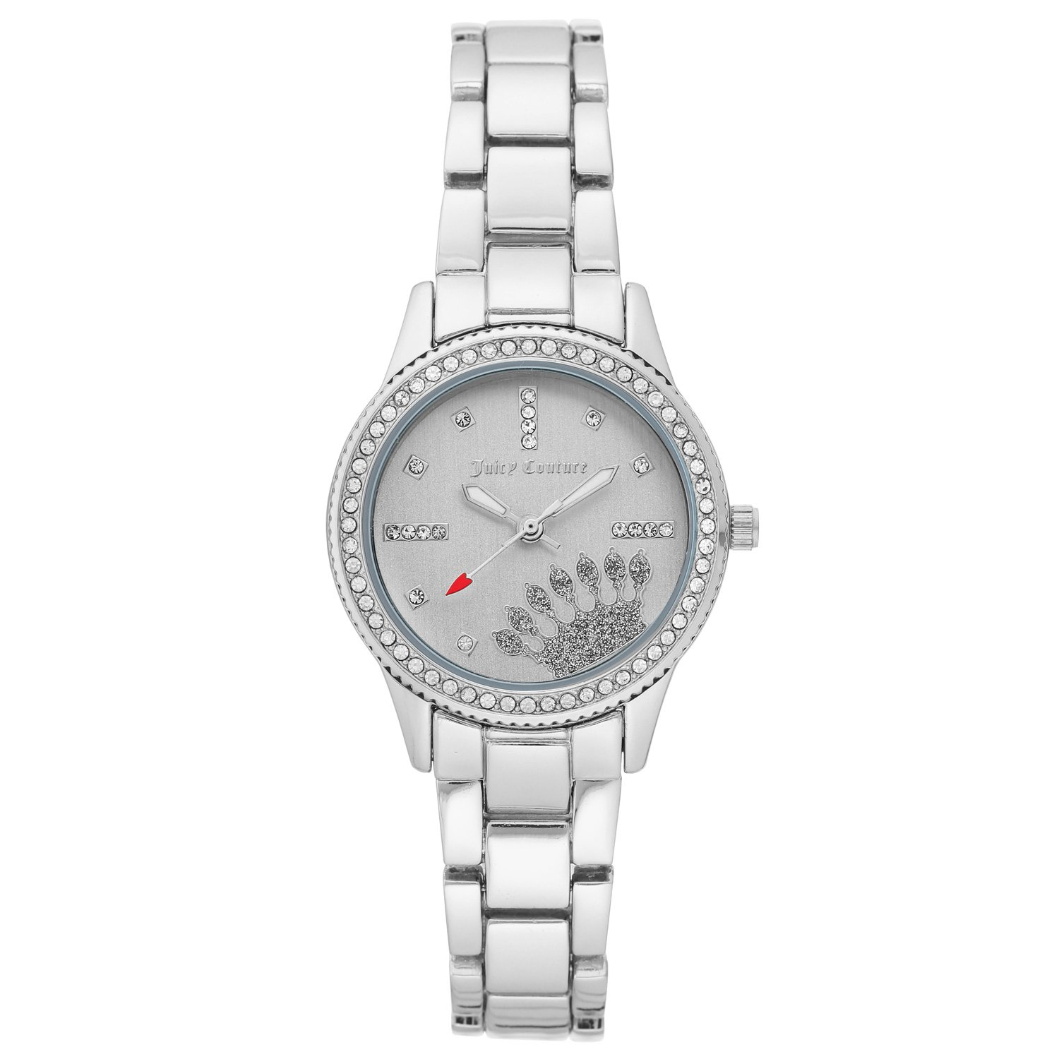 Juicy Couture Women's Watch Silver JC/1110SVSV